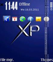 Xp by gray es el tema de pantalla