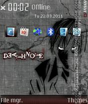 Death note 667 theme screenshot
