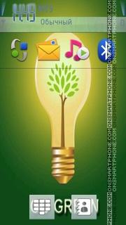 Go green theme screenshot