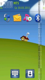 Chibbi House theme screenshot