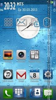 Capture d'écran Iphone 4g thème