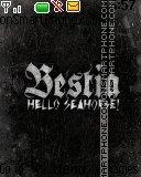 Hello seahorse es el tema de pantalla