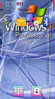 Win XP tema screenshot