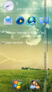 Nature HD es el tema de pantalla