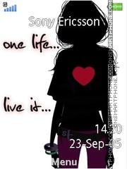 One life es el tema de pantalla