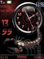 Scorpion tema screenshot