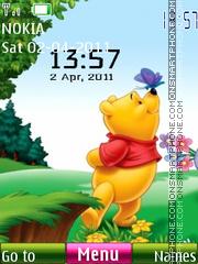 Pooh Clock 01 es el tema de pantalla