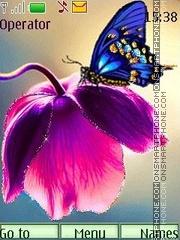 Butterfly anim es el tema de pantalla