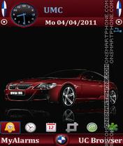 BMW M6 by Bolena es el tema de pantalla