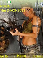 Rambo Girl es el tema de pantalla