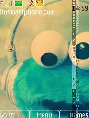 Cookie Monster theme screenshot