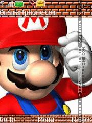 Mario Mario theme screenshot