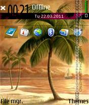 Palms 04 es el tema de pantalla