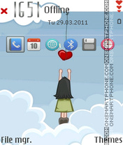 Grab a heart es el tema de pantalla