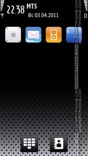 Iphone 5th Refresh 01 es el tema de pantalla