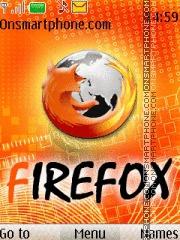 Mozilla Firefox 03 theme screenshot