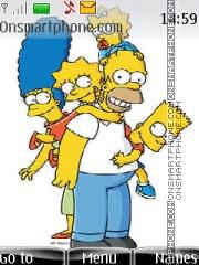 Simpsons 10 es el tema de pantalla