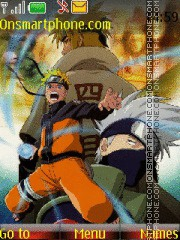 Naruto 2015 theme screenshot