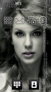 Taylor Swift 02 theme screenshot