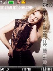 Britney Spears 24 theme screenshot
