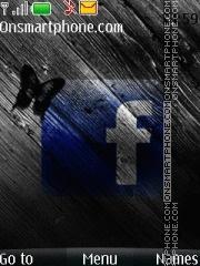 Facebook Broken theme screenshot