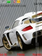 Porsche Carrera Gt 02 theme screenshot
