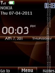 Nokia Choco Digital es el tema de pantalla