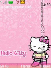 Pink Kitty 05 theme screenshot