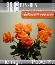 Flowers 01 theme screenshot