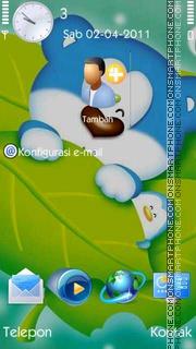 Blue Bear es el tema de pantalla