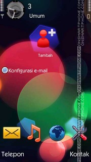 Circles II es el tema de pantalla