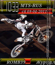 Freestyle motocross By ROMB39 tema screenshot
