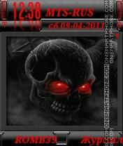 Cherep By ROMB39 es el tema de pantalla
