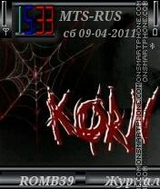 Korn By ROMB39 es el tema de pantalla