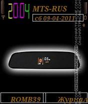 Parkor By ROMB39 es el tema de pantalla