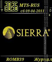 Sierra By ROMB39 es el tema de pantalla