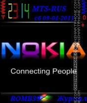 Nokia By ROMB39 es el tema de pantalla