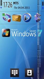 Widnow Seven X-x3d theme screenshot