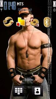 John Cena 16 theme screenshot