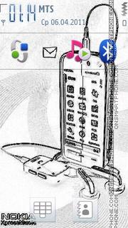 3d Sketch 2011 theme screenshot