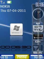 Se7en Sidebar es el tema de pantalla