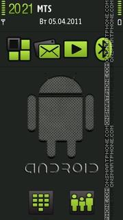 Android V3 tema screenshot