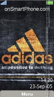 Adidas 50 es el tema de pantalla