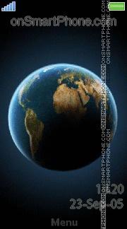 Globe Earth es el tema de pantalla