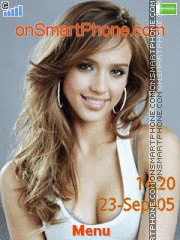 Jessica Alba 31 tema screenshot