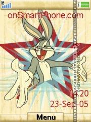 Bugs Bunny 16 es el tema de pantalla
