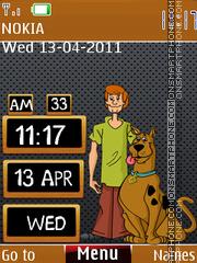 Scooby Doo Clock theme screenshot