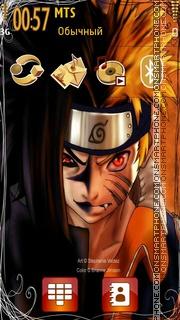 Naruto Vs Sasuke 07 theme screenshot
