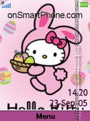 Bunny Kitty Easter es el tema de pantalla