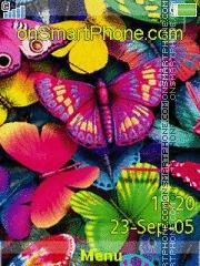 Butterflies 04 es el tema de pantalla
